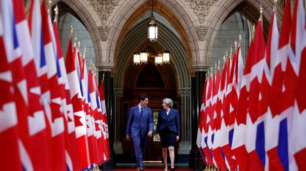 Maple Brexit? EU eyes Canada model for UK trade