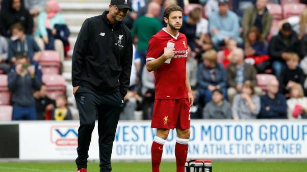 Klopp will not rush fit-again Lallana back into action