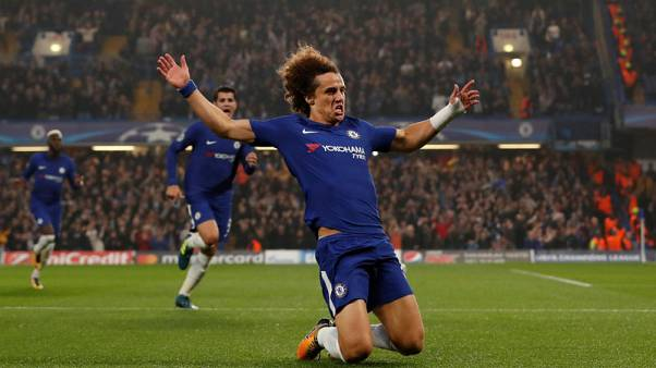 Chelsea's Luiz recalled to squad for West Brom clash