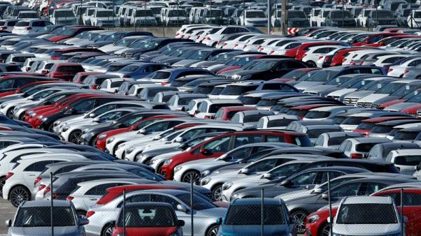 New cars are seen in a carpark near Barcelona, Spain, January 18, 2017. REUTERS/Albert Gea
