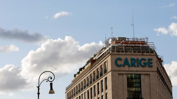 Italy's Carige warns of insufficient working capital in prospectus