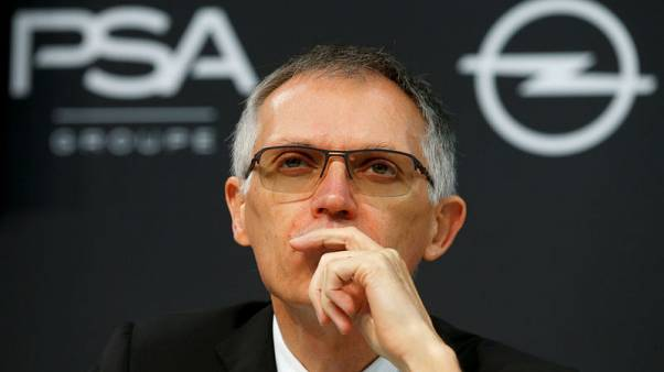PSA CEO says failure of Opel recovery plan would be serious for staff, company