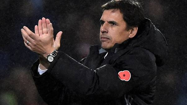 Soccer Football - International Friendly - Wales vs Panama - Cardiff City Stadium, Cardiff, Britain - November 14, 2017   Wales manager Chris Coleman applauds fans after the match             REUTERS/Rebecca Naden