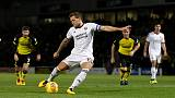 Soccer Football - Championship - Burton Albion vs Sheffield United - Pirelli Stadium, Burton, Britain - November 17, 2017   Billy Sharp scores Sheffield United's first goal   Action Images/Carl Recine