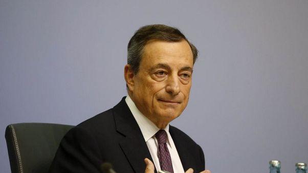 Cheap ECB cash still key for euro zone economy - Draghi
