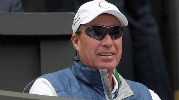 إيفان ليندل مدرب لاعب التنس البريطاني آندي موراي - أرشيف رويترز