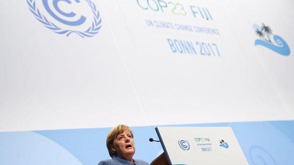 Climate measures agreed in Paris not enough - Merkel