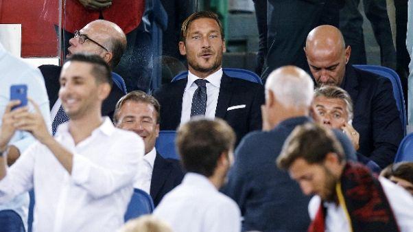 Totti,derby diverso ma stesso amore Roma