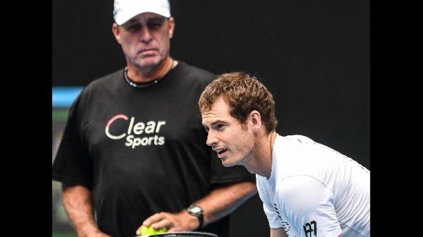 Tennis: Murray divorzia da coach Lendl