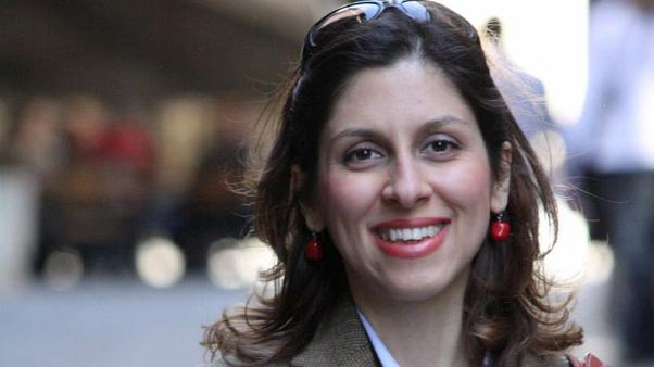 Britain says no link between 400 million pound debt owed to Iran and jailed aid worker