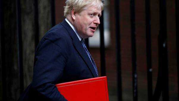 Britain's Johnson says work to be done to solve Irish border issue