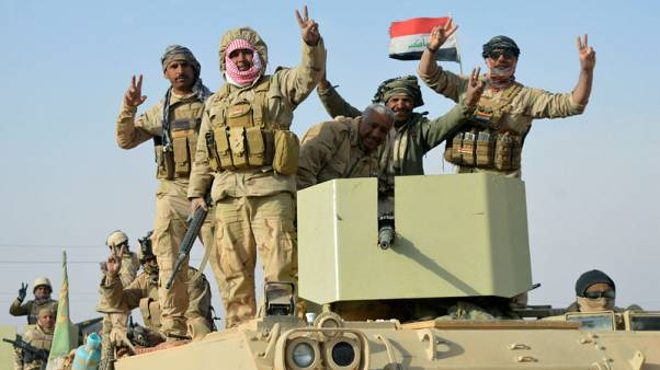 Iraqi forces recapture last Islamic State-held town