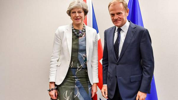 EU's Tusk - no deadlock on Brexit, very cautious but optimistic