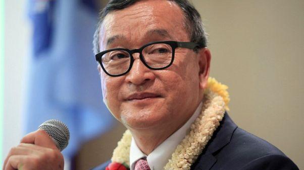 زعيم المعارضة الكمبودي السابق يدعو لمقاطعة الانتخابات