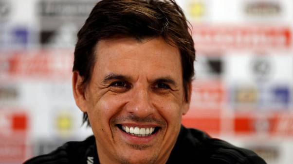 Soccer Football - Wales Press Conference - Cardiff City Stadium, Cardiff, Britain - November 13, 2017   Wales manager Chris Coleman during the press conference   Action Images via Reuters/Matthew Childs