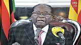 Le président zimbabwéen Robert Mugabe, le 22 août 2013 à Harare