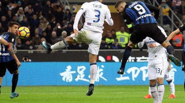 Inter-Napoli 2-0 nel posticipo