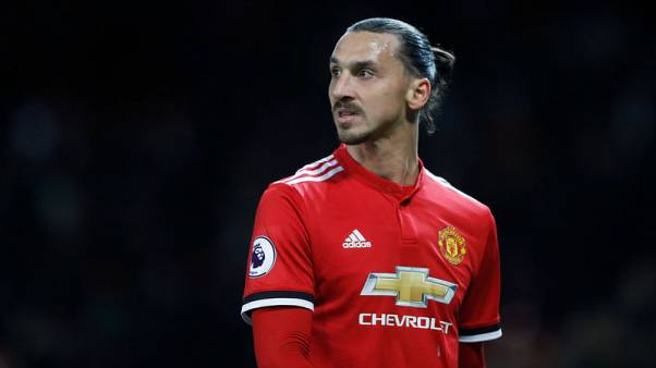FILE PHOTO - Soccer Football - Premier League - Manchester United vs Newcastle United - Old Trafford, Manchester, Britain - November 18, 2017   Manchester United's Zlatan Ibrahimovic after the match    Action Images via Reuters/Carl Recine