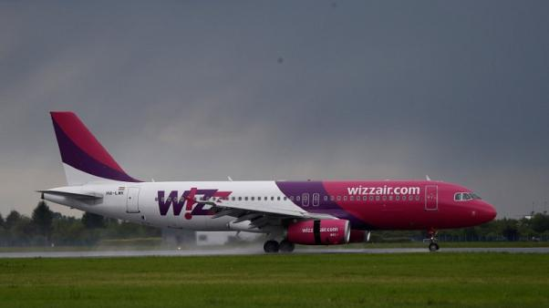 FILE PHOTO - A Wizz Air Airbus 320 aircraft lands at the Chopin International Airport in Warsaw, Poland May 17, 2016. REUTERS/Kacper Pempel