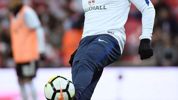 Soccer Football - International Friendly - England vs Germany - Wembley Stadium, London, Britain - November 10, 2017   England's Danny Rose warms up before the match    Action Images via Reuters/John Sibley