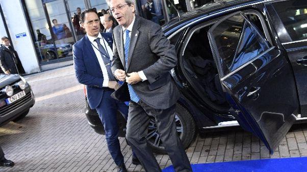 Gentiloni, fuori da Eurozona no praterie