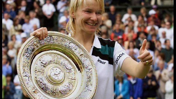 Vincitrice a Wimbledon nel '98, era da tempo malata di cancro