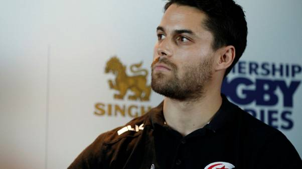 Rugby Union - Premiership Rugby Fixture Launch - London, Britain - July 7, 2017   Sean Maitland of Saracens during the launch   Action Images/John Sibley