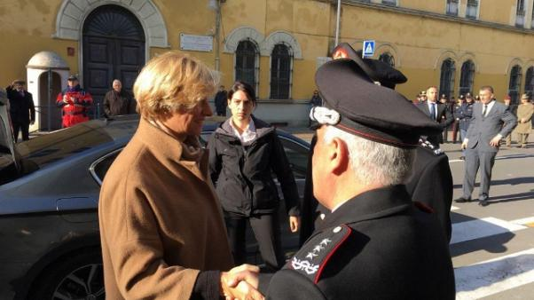 'Qui pezzo storia Italia'. A cerimonia generale Tullio Del Sette