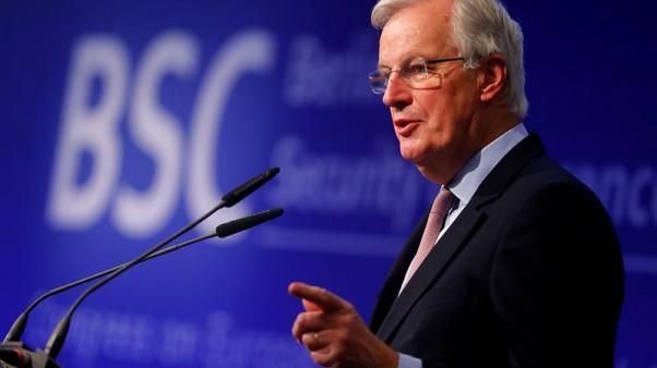 EU's Barnier says hopes to report on financial terms of Brexit soon