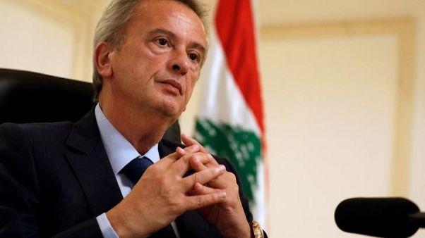حاكم مصرف لبنان المركزي رياض سلامة خلال مقابلة له مع رويترز يوم 24 أكتوبر تشرين الاول 2017. تصوير: جمال السعيدي - رويترز