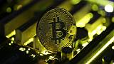 A copy of bitcoin standing on PC motherboard is seen in this illustration picture, October 26, 2017. REUTERS/Dado Ruvic