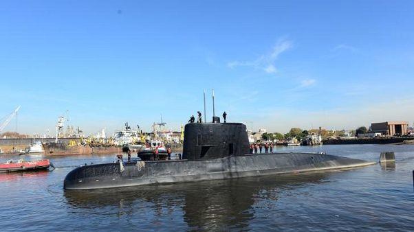 الغواصة الارجنتينية المفقودة سان خوان - صورة من أرشيف رويترز. صورة لرويترز.