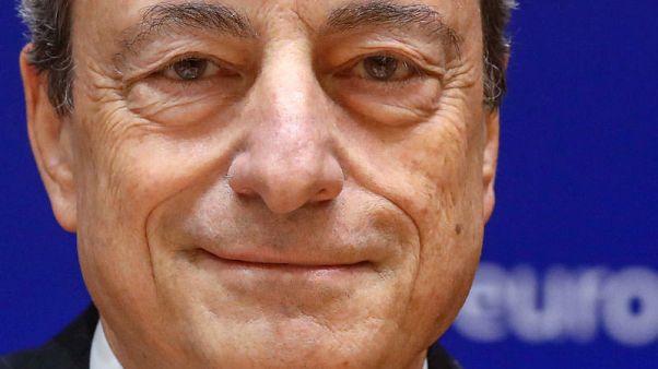 No EU deposit insurance if bad loans not cut - ECB's Draghi