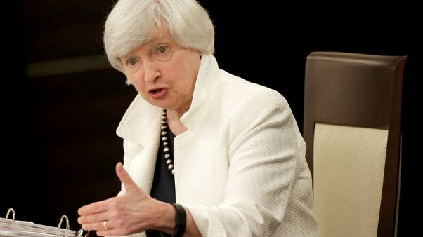 Fed close to goals, sees dual risks as it hikes rates - Yellen