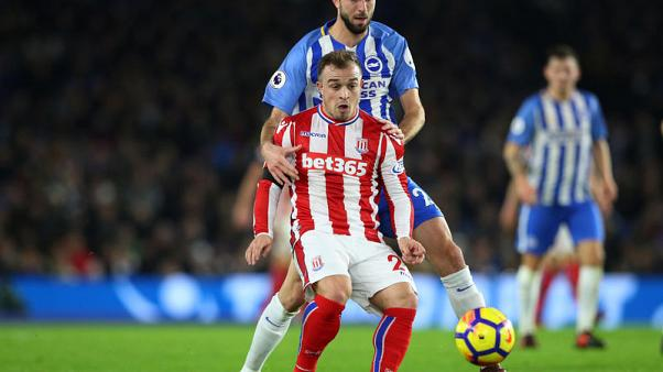 Brighton recover twice to share points with Stoke