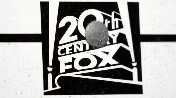 FILE PHOTO:    The Twenty-First Century Fox Studios logo is seen in Los Angeles, California U.S. November 6, 2017. REUTERS/Lucy Nicholson/File Photo