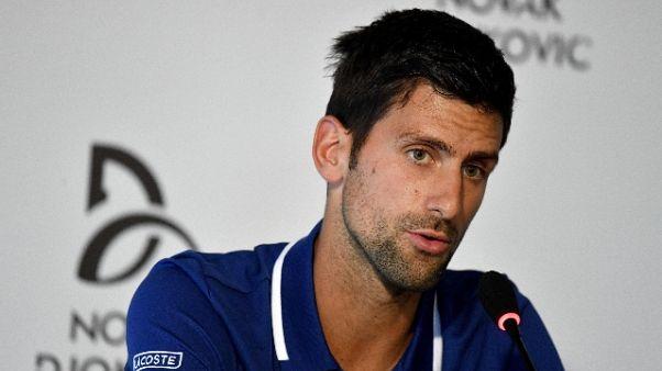 Djokovic, rientro a gennaio a Doha
