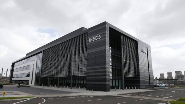 New Ineos offices are seen at Grangemouth where shale gas from U.S. shale was delivered for the first time today, Scotland, Britain September 27, 2016. REUTERS/Russell Cheyne