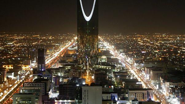 برج المملكة بالعاصمة السعودية الرياض في صورة من أرشيف رويترز.