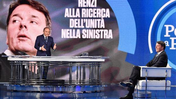 Renzi, se si candida sfiderò Berlusconi