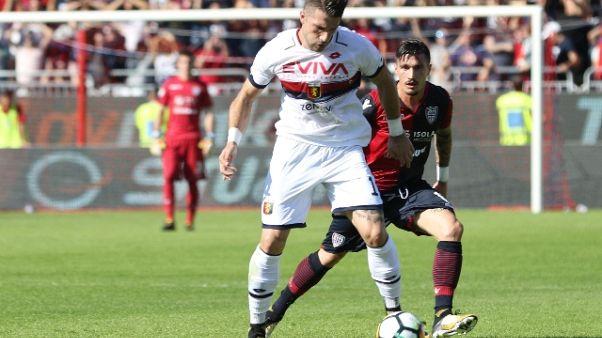 Genoa: stop Galabinov, salterà la Roma