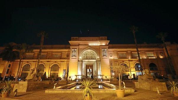منظر عام للمتحف المصري بالقاهرة في صورة من أرشيف رويترز.