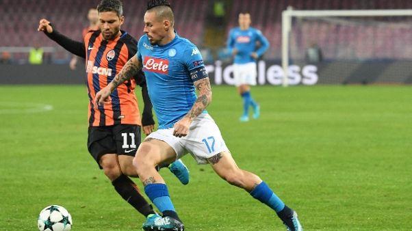 Capitano Napoli 'spero che il City vinca anche in Ucraina'