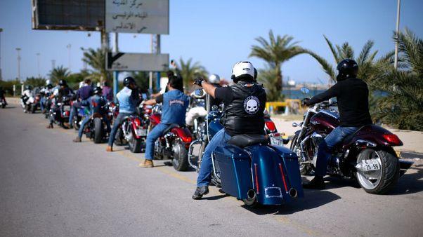 تحقيق-مجموعات راكبي الدراجات النارية تزدهر في ليبيا ما بعد القذافي