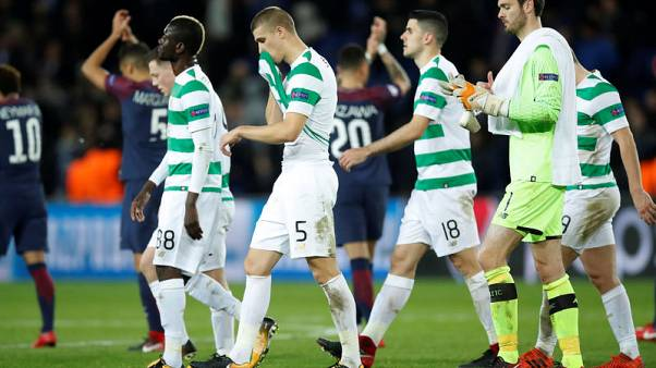 PSG crush Celtic 7-1 to extend perfect European record