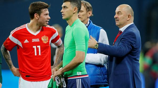 As lowest-ranked team, World Cup hosts Russia hope for upset