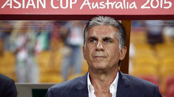 Iran's national soccer team coach Carlos Queiroz looks on before the international soccer friendly match between Iran and Sweden at Friends Arena in Stockholm March 31, 2015. REUTERS/Henrik Montgomery/TT News Agency