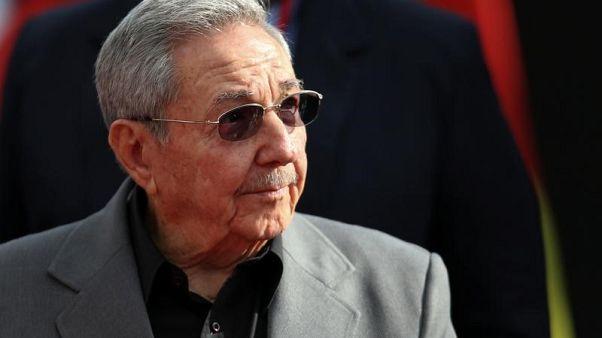 Cuba's President Raul Castro in Caracas, Venezuela, March 5, 2017. REUTERS/Carlos Garcia Rawlins
