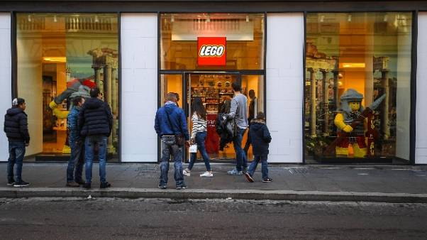 Apre Lego store in centro a Roma