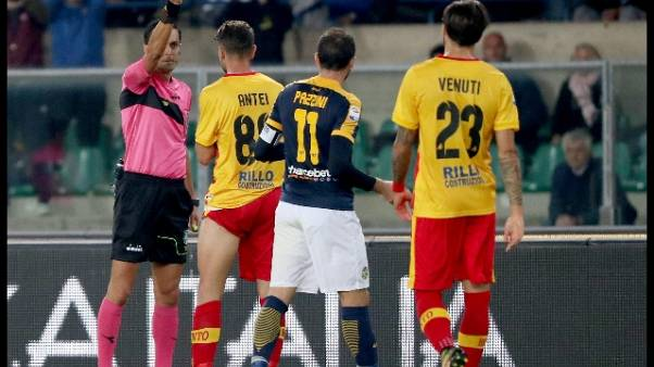 Calcio: gli arbitri della Serie A